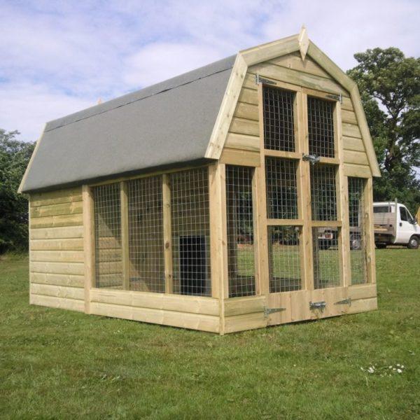Dutch Barn Dog Kennels Other Side