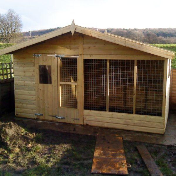 The midville dog kennel