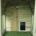 Inside the ductch barn dog kennels