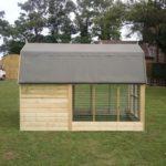 Duch Barn Dog Kennel Side View