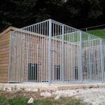 The Elms Dog Kennel - Side View