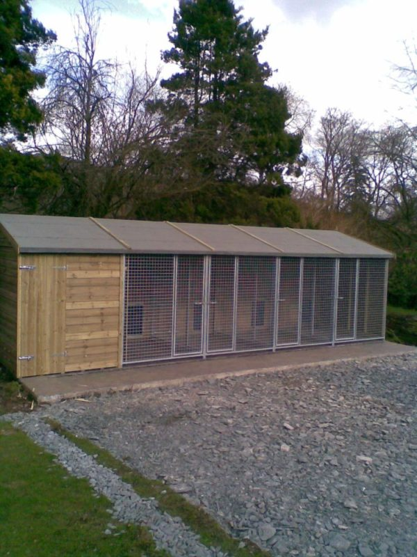 The Maples Dog Kennel Block