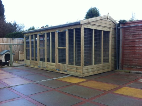 Multi Dog Kennels - Mesh