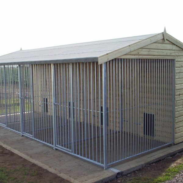 Commercial Dog Kennel Block
