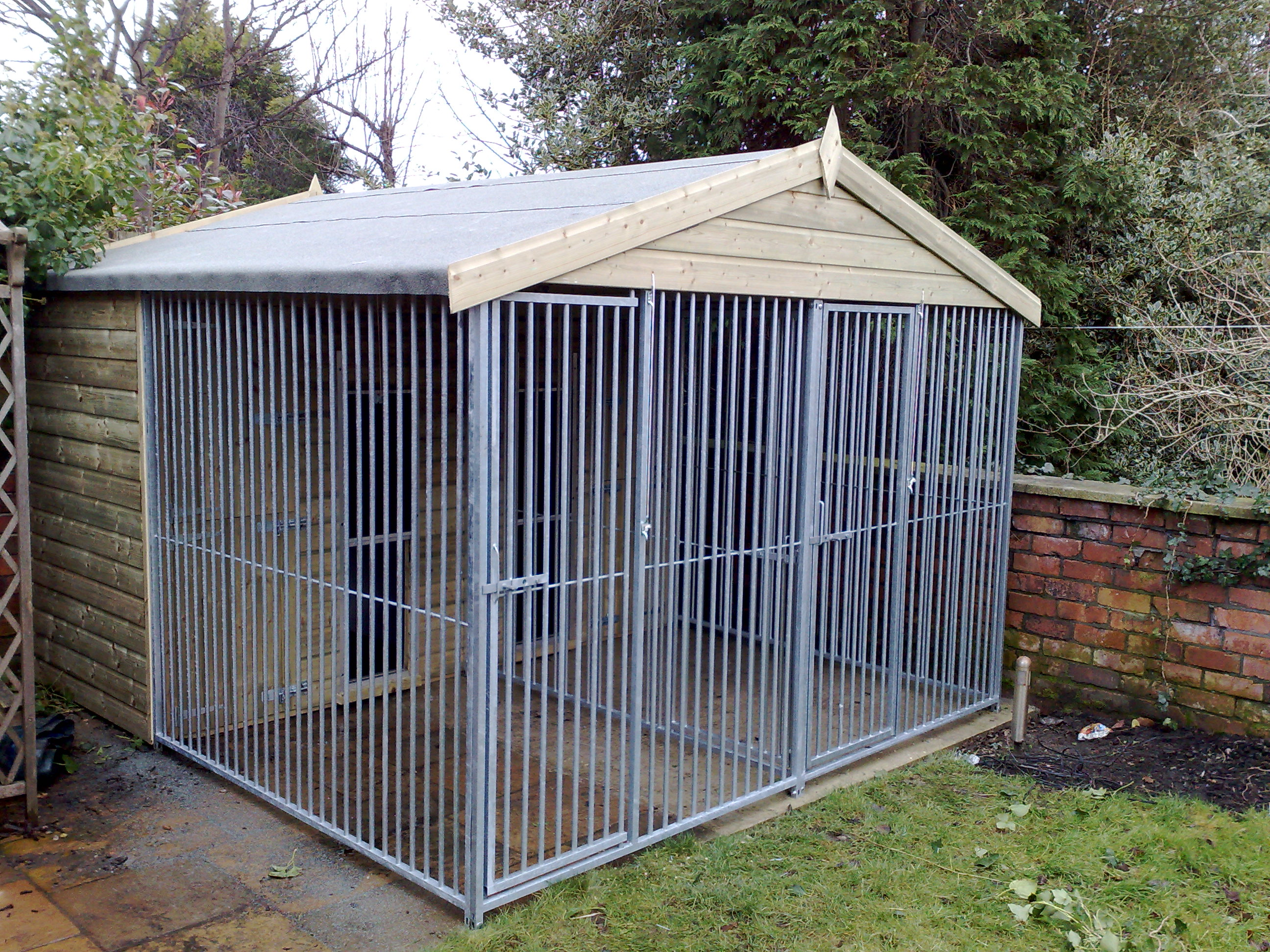 Double Dog Kennels For Sale