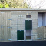 Double Bay Dog Kennel Block