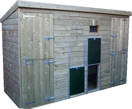 The Windermere Double Bay Dog Kennel / Block
