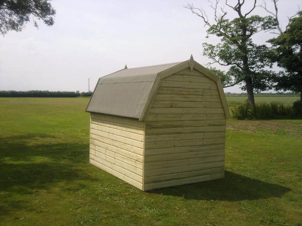 Dutch Barn Shed Back