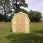 Dutch Barn Shed Front
