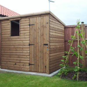 Pent Roof Garden Shed