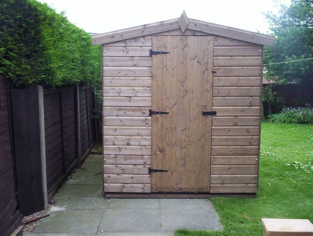 Apex garden shed for Quality garden sheds