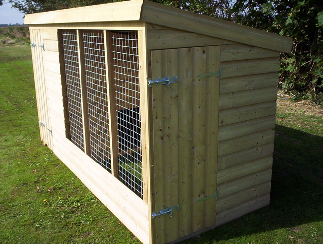 The Frampton Single Dog Kennel