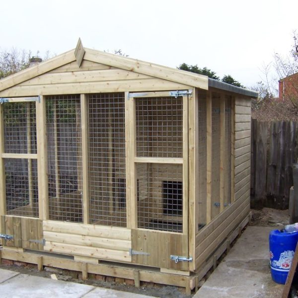 The Friskney Kennel - Double Kennel Block