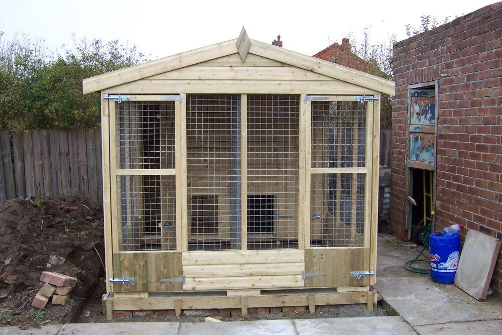 The Friskney - Double Kennel Block
