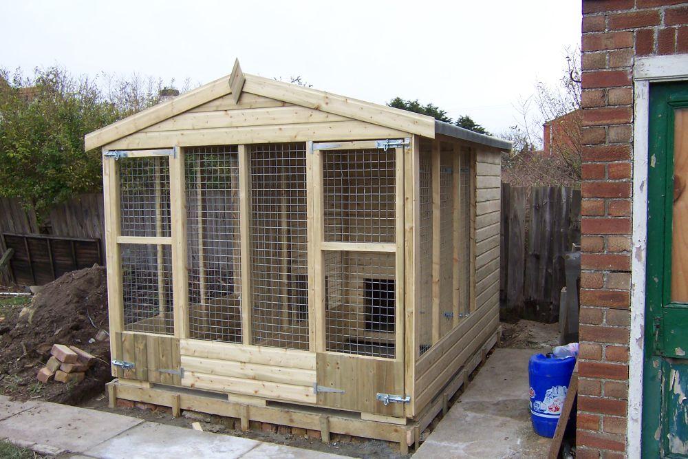 The Friskney Kennel - Double Kennel Block